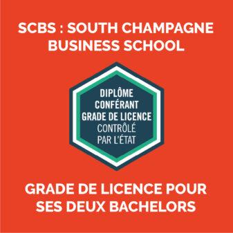SCBS, notre école de management obtient le Grade de Licence pour ses deux Bachelors !