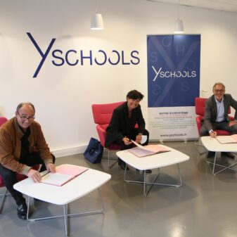 Prêts d'honneur : renouvellement de la convention de partenariat entre la BPALC et Y SCHOOLS