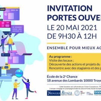 Matinée portes ouvertes : venez à la rencontre de l'E2C Champagne Ardenne, site de Troyes le 20 mai prochain