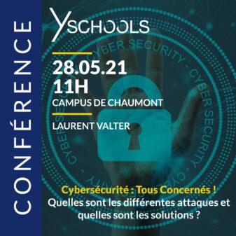 Conférence «Cybersécurité : tous concernés !» le 28 mai 2021 à Chaumont